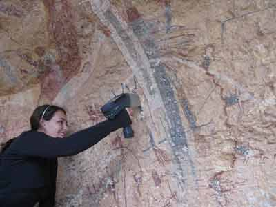 Lower Pecos rock art scan