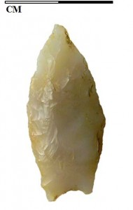 Western Stemmed Tradition stone point