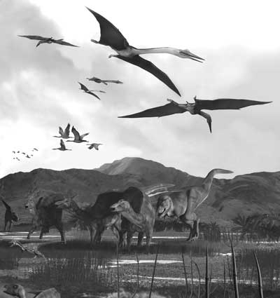 Pterosaurs-and-dinosaurs-in-Cretaceous-Alaska