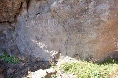 New Mexico rock art with tobacco